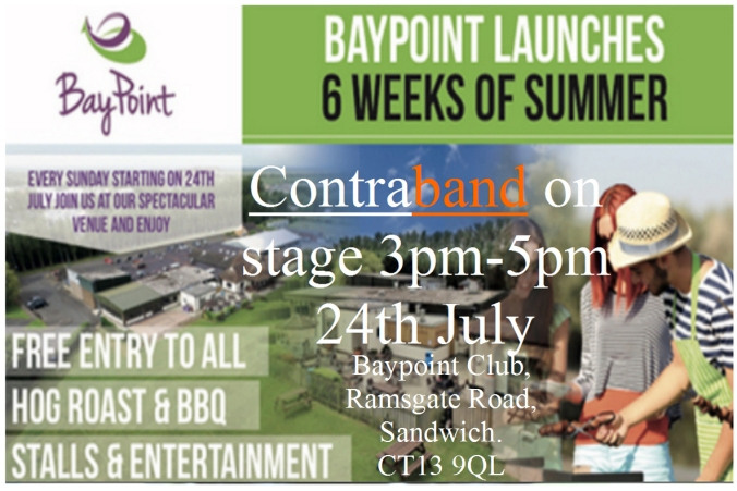 Contraband Baypoint Poster