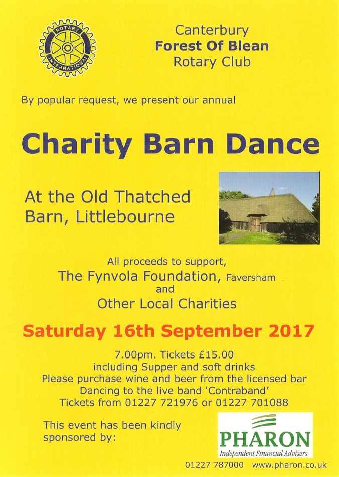 The Barn Littlebourne 2017