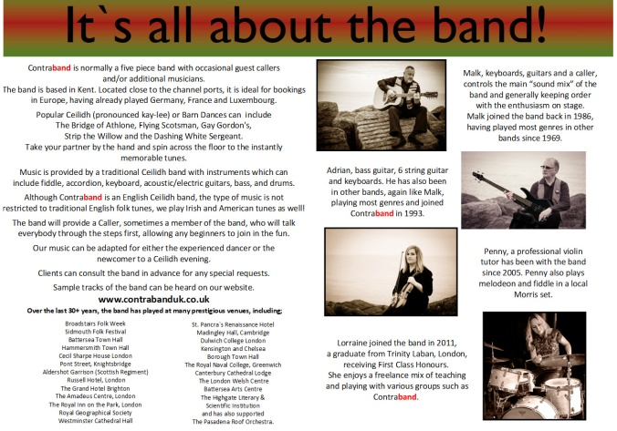 Meet The Band Oct 2017