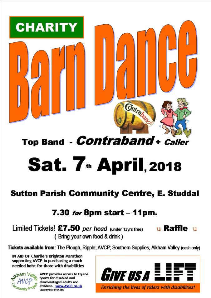 Sutton barn dance