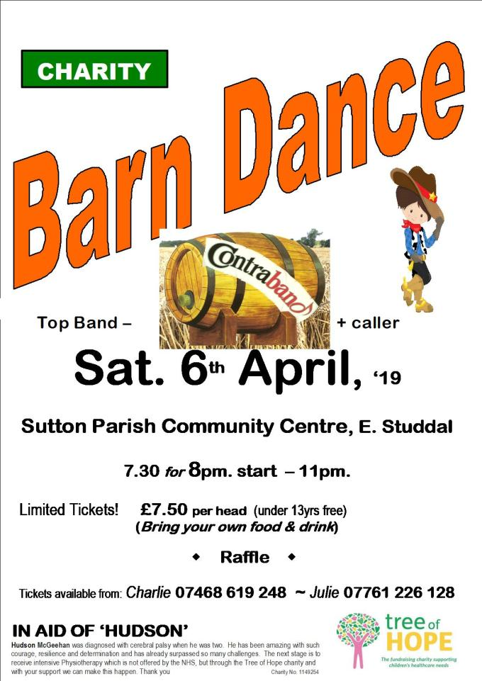 SUTTON PARISH BARN DANCE